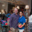 News, Shelby, Alex Martinez Back to School event, Aug. 2015, Dr. Essa Kawaja & Diana Martinez-Cumbow