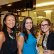 Houston, Ellevate event at Tootsies, August 2015, Vivian Wong, Leela Madan, Thais Amaral Tellawi