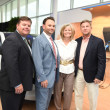 News, Shelby, BMW West grand opening, June 2015, Wayne Schulte, Tommy Kuranoff, Gil & Traci Harris
