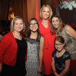 The Nieto family, Ilona Carson, Tiffany Travis at Go Red for Women luncheon