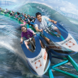 SeaWorld San Antonio presents Wave Breaker: The Rescue Coaster