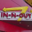In-N-Out, neon sign, hamburgers, burgers