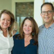Houston Methodist in Aspen, July 2017, Claire Dewar, Lisa Kopecky and Dr. Jeremy Finkelstein