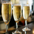 Flour and Vine champagne glass