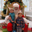 Houston, Childrens Museum, Christmas Santa, December 2017
