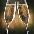 News_Marene Gustin_Meals of Decade_champagne toast