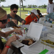 News_Barbecue judging_Reyne Haines_Jonathan Novak_Corbett Parker_Paul-David Van Atta