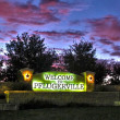 Pflugerville city sign
