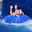 Water slide at Hawaiian Falls