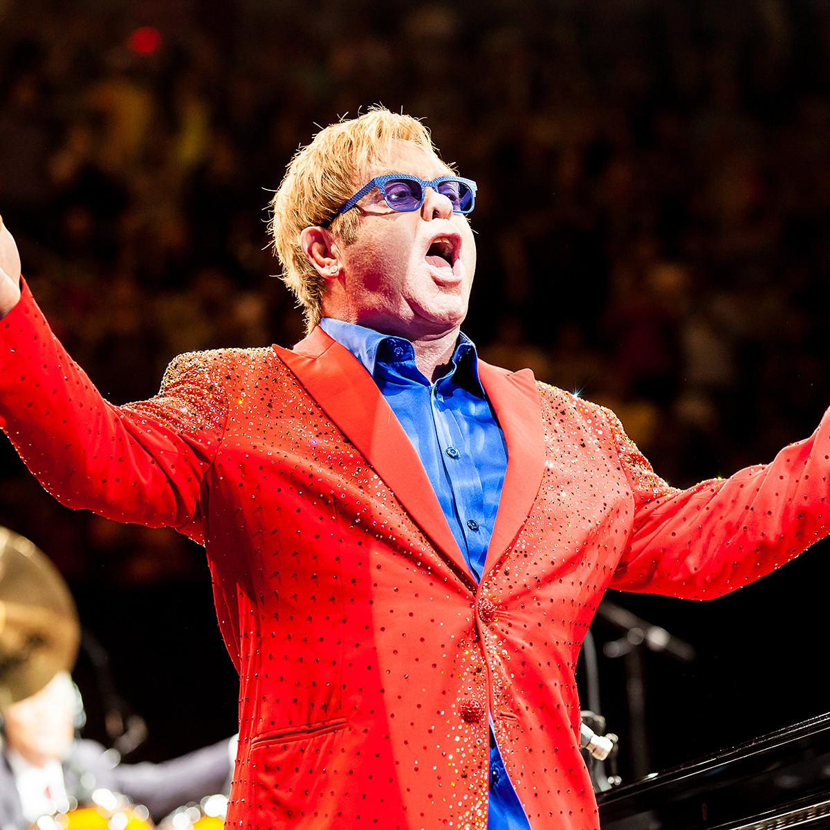 Elton John's Wild Show: Surprise Shoutout, A Fight & Biden