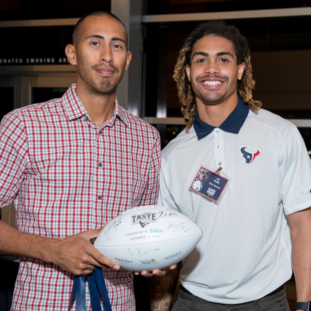 efebab06ab9 Taste of the Texans draws 25 top restaurants and football stars ...