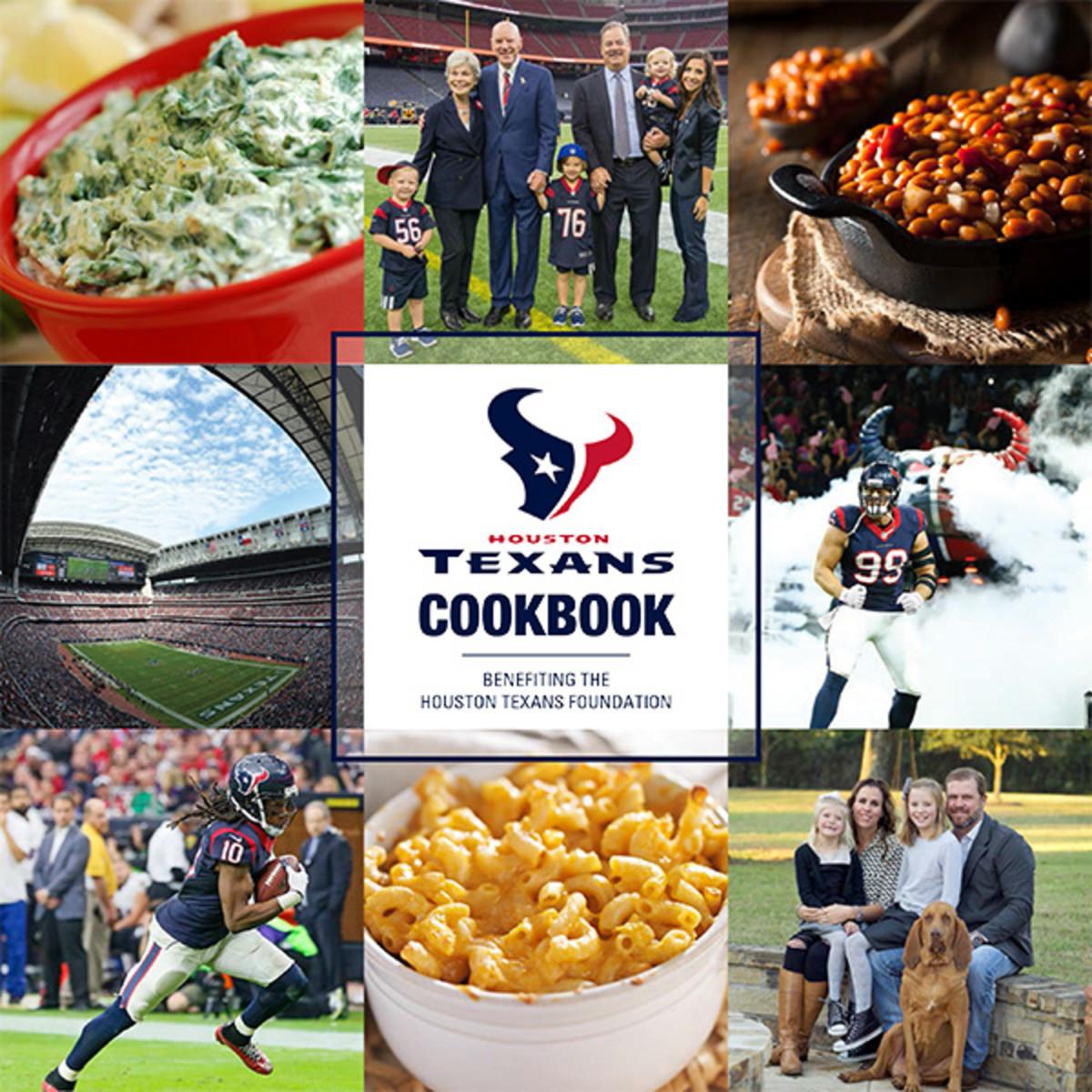 J.J. Watt excited Texans. Houston Texans Cookbook cover 81f2709cd