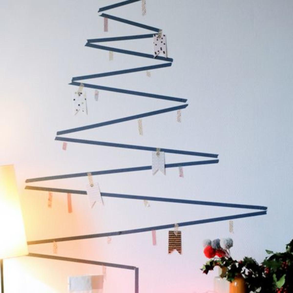 Alternative Christmas Trees.4 Festive Christmas Tree Alternatives That Will Spruce Up