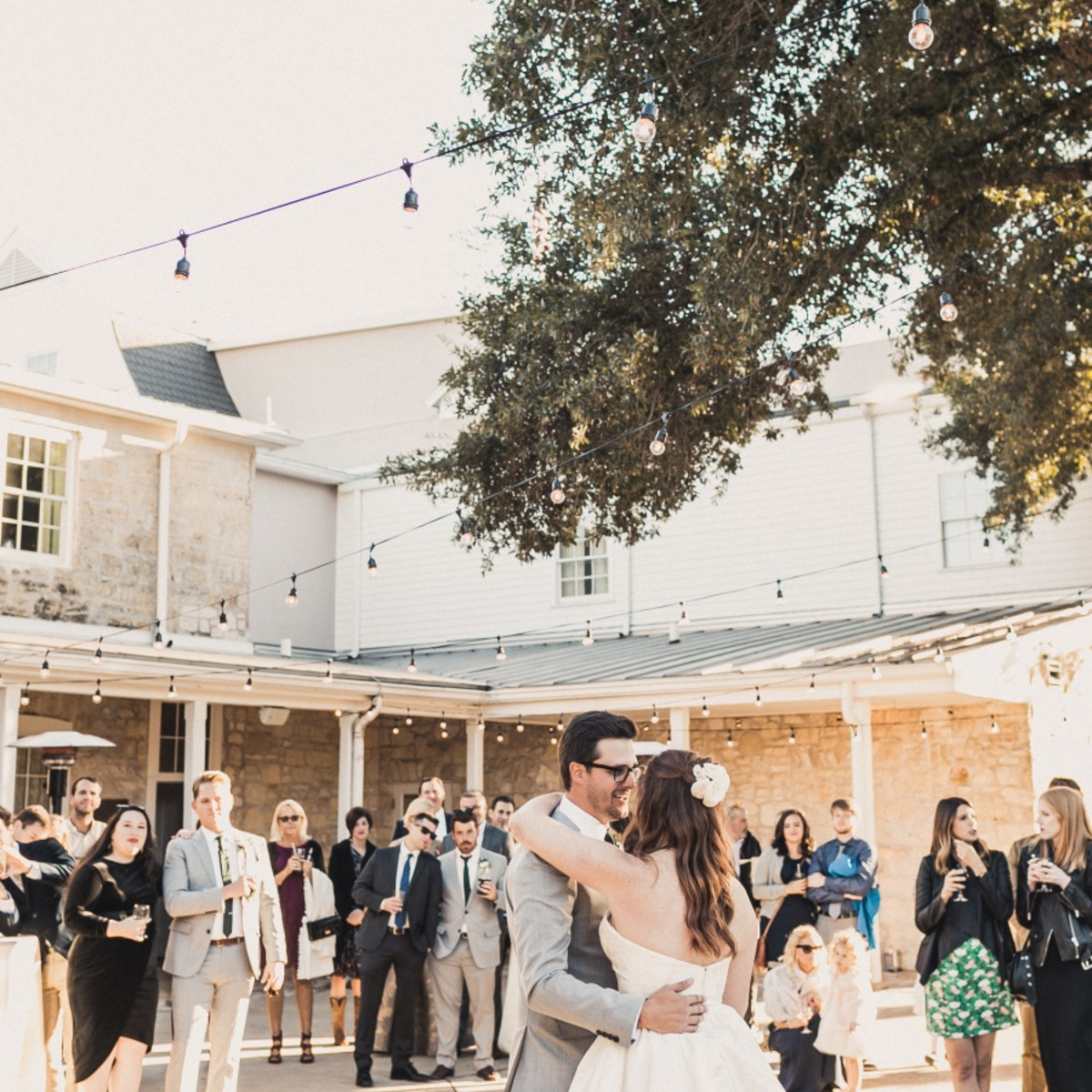 e515fb0dfb6 Austin couple s Hill Country wedding ends long-distance love affair ...