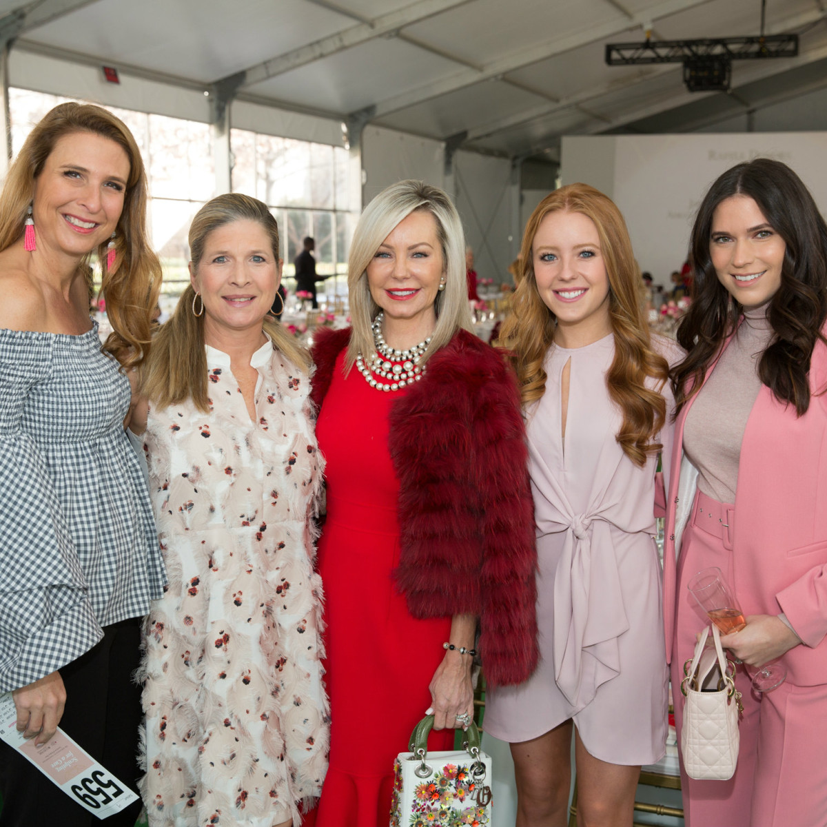 bf63437a3 Philanthropic Dallasites show a lot of heart at fashionable luncheon ...