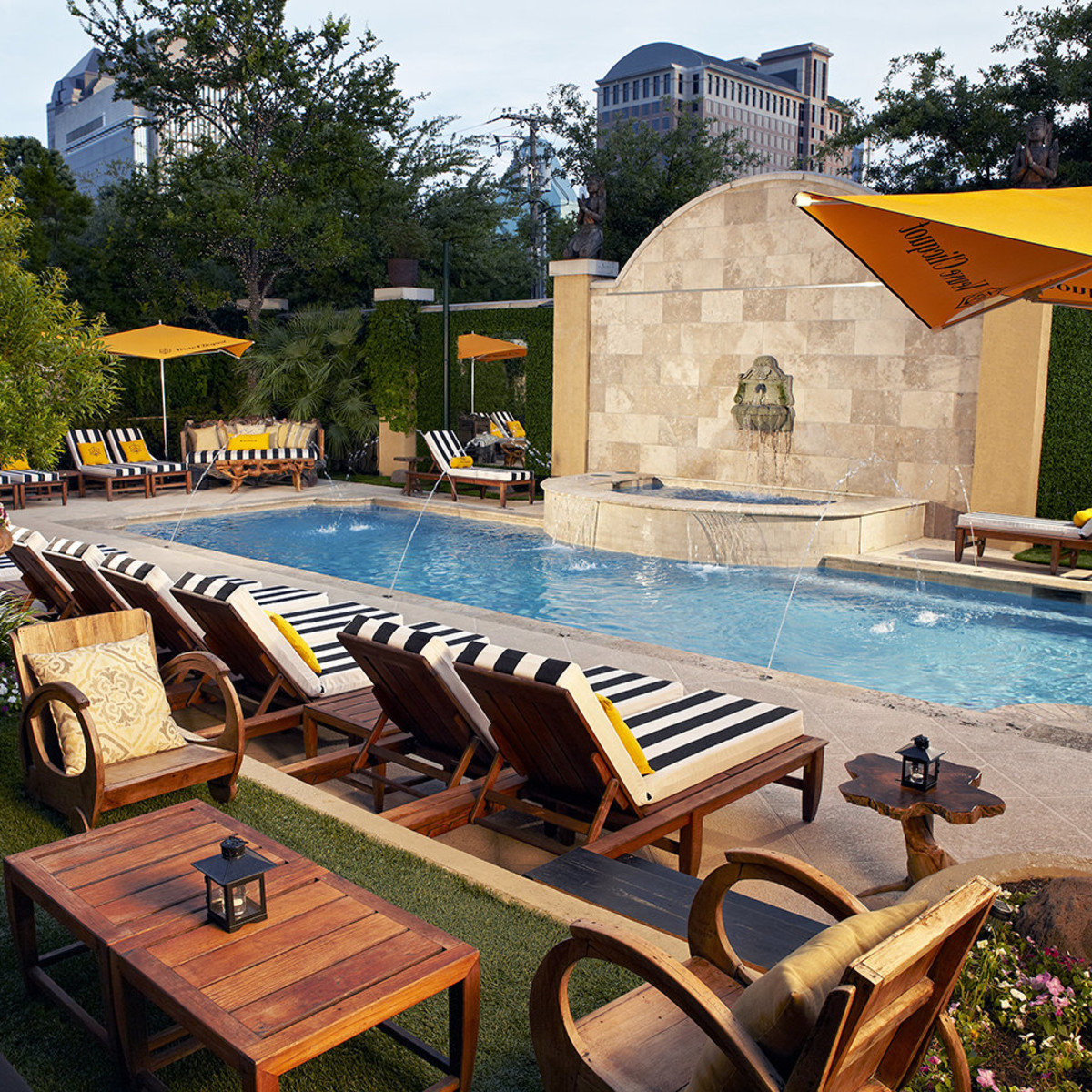 Take A Dip In The Most Fabulous Hotel Pools In Dallas Culturemap