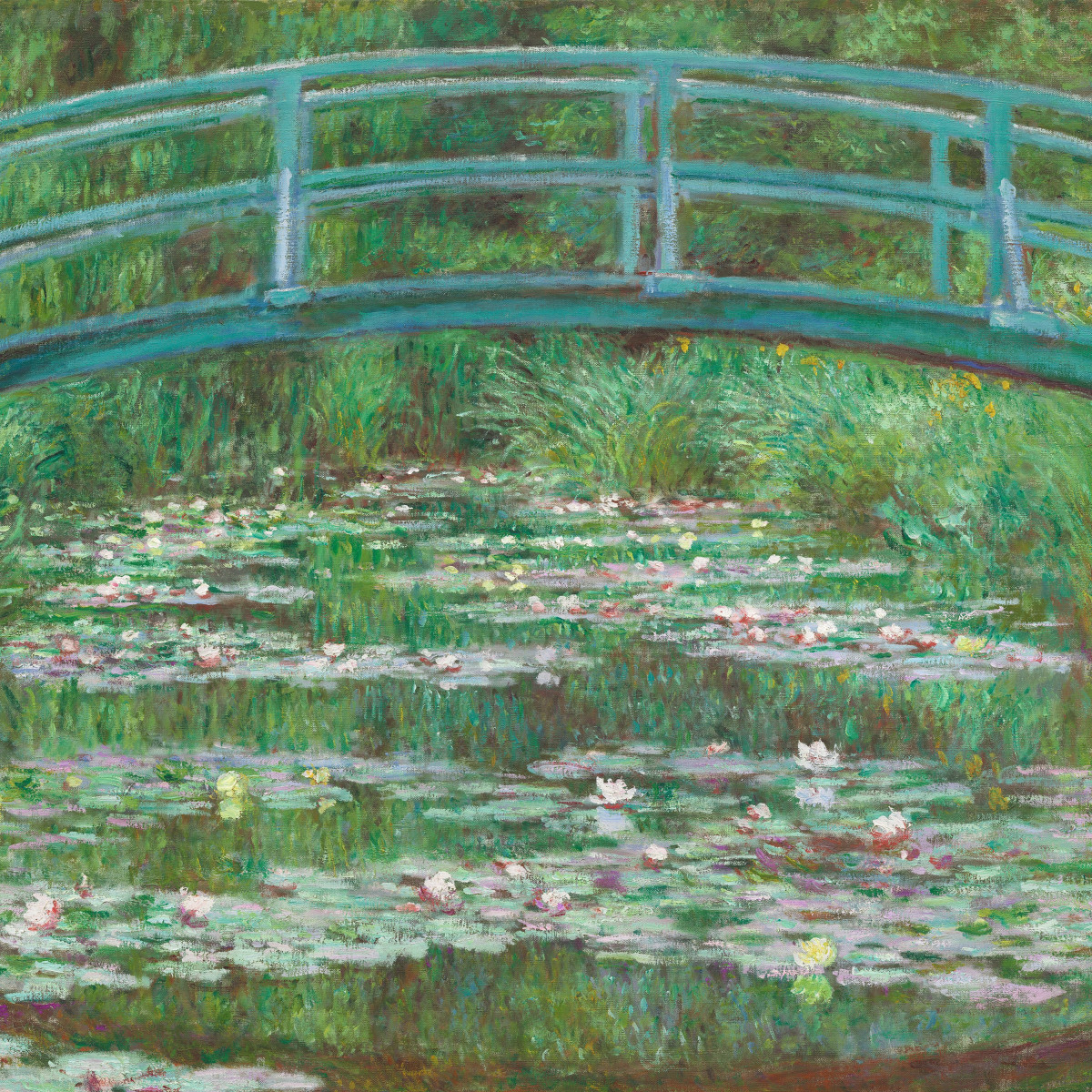 Cool Monets Garden Blooms With Surprises In New Texas Museum Evergreenethics Interior Chair Design Evergreenethicsorg