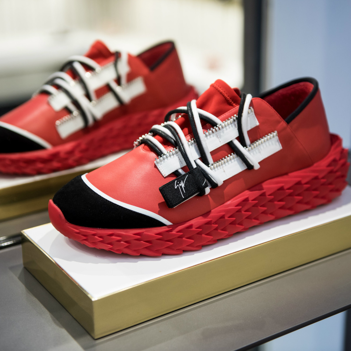 1ddb307566451 Rockets star and luxe international designer unveil stylish sneaker ...