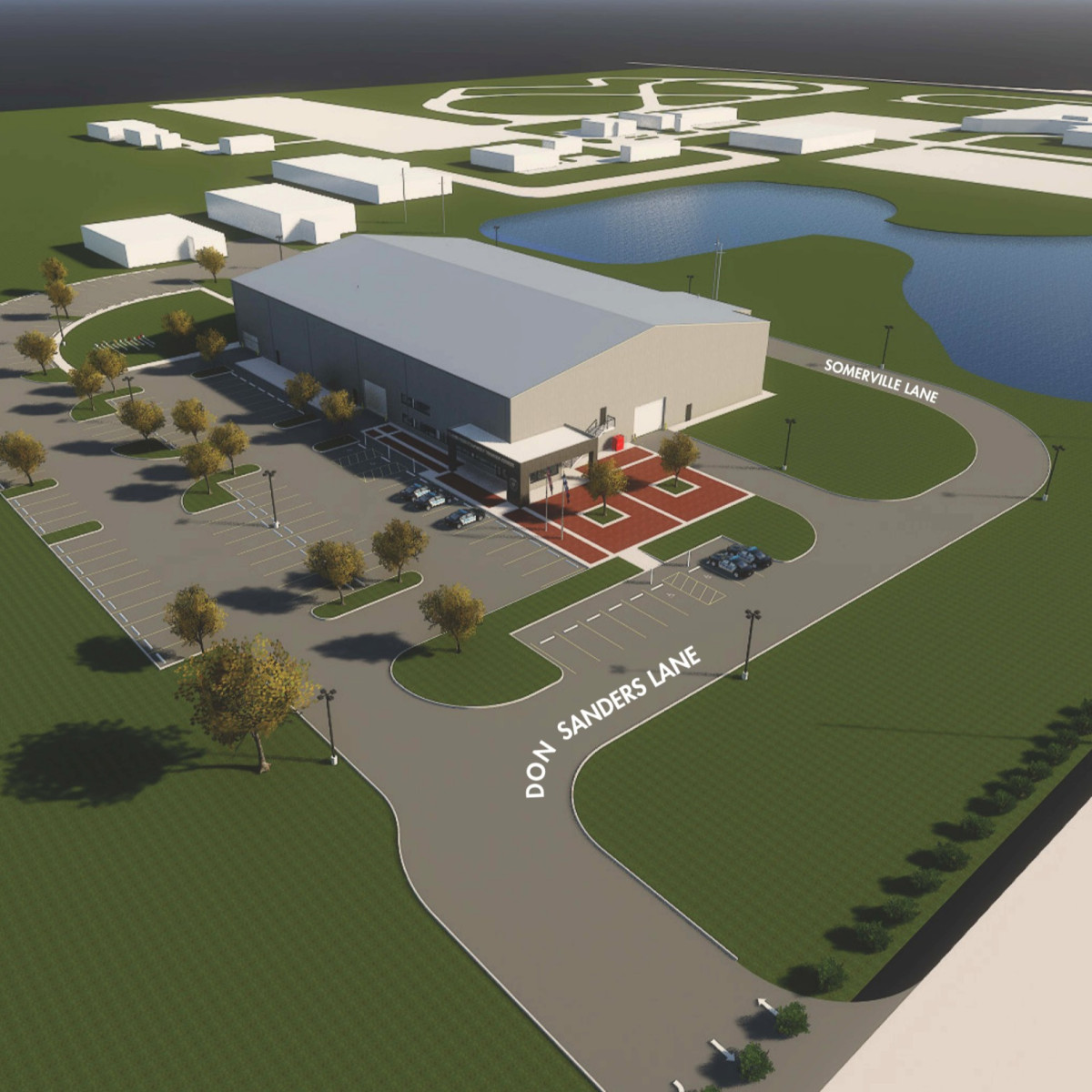 Fertitta backs the blue with state-of-the-art police training center