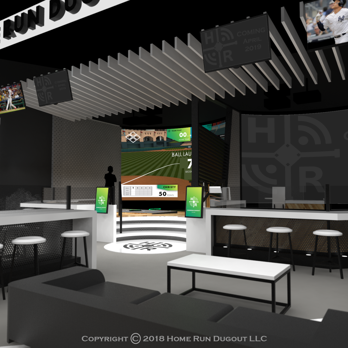 Austin Scores Clutch New Batting Cage And Bar Concept