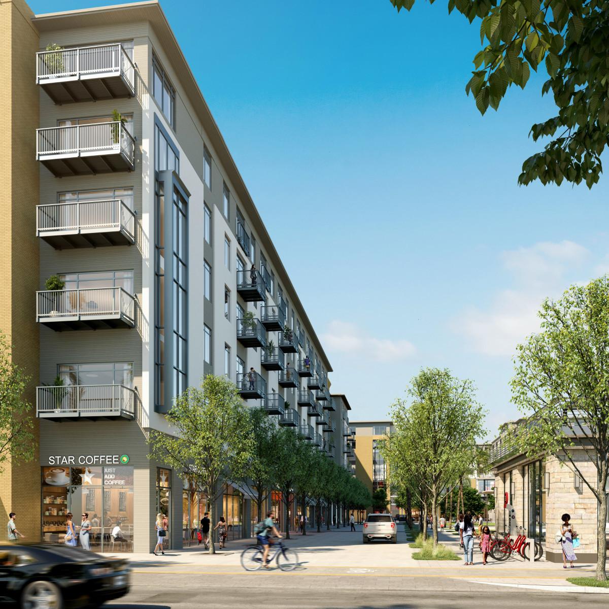 Bayou Park Apartments: Massive Mixed-use Development Along Buffalo Bayou Reveals