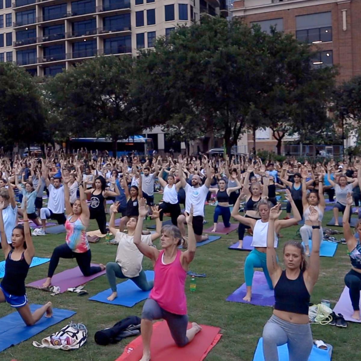 Frost Austin Wanderlust yoga pop-up