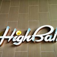 The Highball_exterior_sign
