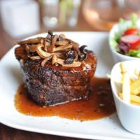 First taste at Bistro Menil September 2014 steak closeup