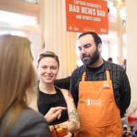 News, Taste of the Nation, Sept. 2015,  Justin Burrows of Bad News Bar