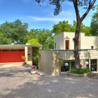 Austin home house 5932 Highland Hills Dr 78731 exterior front
