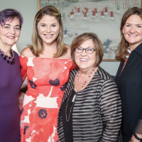 Mental Health Association luncheon, 9/16 Gwen Emmett, Jenna Bush Hager, Susan Fordice, Heather Simpson