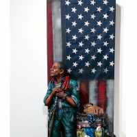Hooks-Epstein Galleries presents Kelly and Kyle Phelps: God... Steel and a Wasted Dream