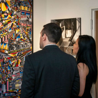 Hannah Bacol Busch Gallery presents Wine Tasting Evening