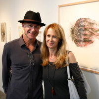 Scott Merrell and Michele Sturtevant at Art on the Avenue Preview Party