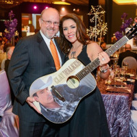 Kenneth and Carla Lewis at UTHealth Constellation Gala