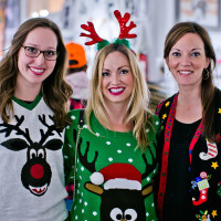 Houston, Fresh Arts Winter Holiday Art Market, Nov 2016, Samantha Smith, Frances Hamker, Carrie Cherek