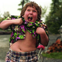 Chunk from the Goonies performing the truffle shuffle