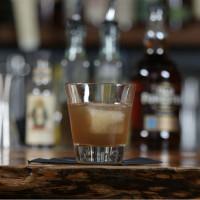 Austin bartender Lucas Felek makes the Velvet Rut