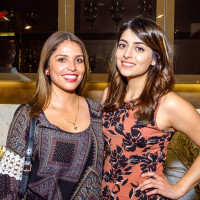 Houston, Mimosa Terrace launch event, Nov 2016, Alejandra Valadez, Sophia Shah