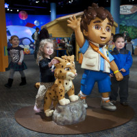 Fort Worth Museum of Science and History presents Dora and Diego Exhibit