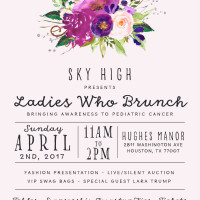 Sky High Foundation presents Ladies Who Brunch