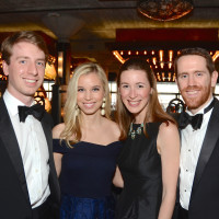 Andrew Thorington and Jennifer Spivack; Katherine and James Ormand at Da Camera Gala