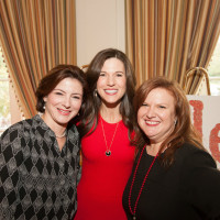 Emily Burguieres Dalicandro, HARC Luncheon Chair 2017; Kristi Breaux, HARC Board Chairman, and Eleni J. Christou, HARC Executive Director.