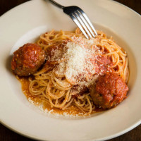 Spaghetti and meatballs at Damian's Cucina Italiana