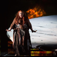 Houston Grand Opera Götterdämmerung, Christine  Goerke as Brünnhilde