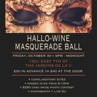 laV presents Hallo-Wine Masquerade Ball
