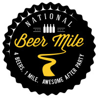 National Beer Mile Logo