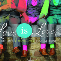 #LoveIsLove Houston's Fabulous Gay Wedding