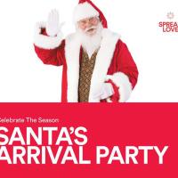 Austin Arboretum Santa's Arrival Party 2015