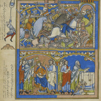 The Crusader Bible: A Gothic Masterpiece
